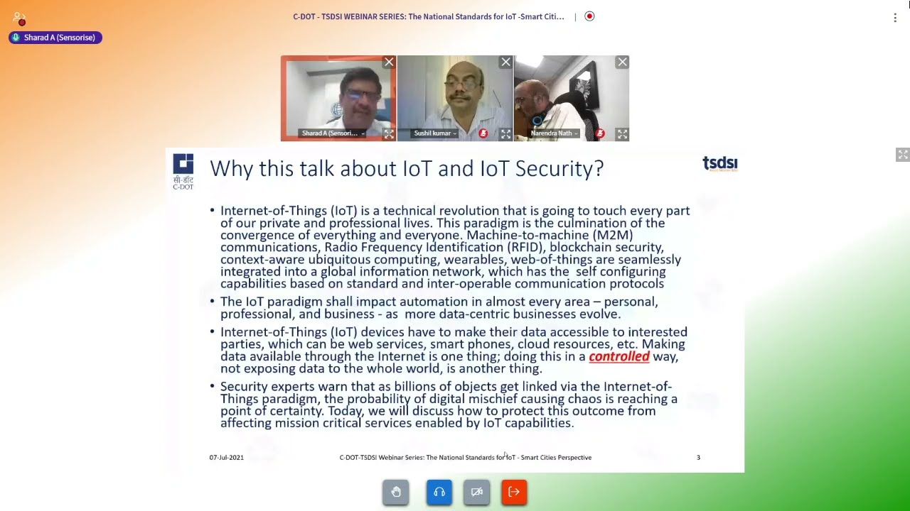 Leadership insights on IOT Standards and Smart cities