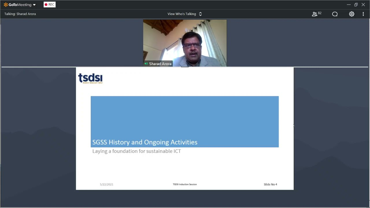 Online Induction Session on TSDSI